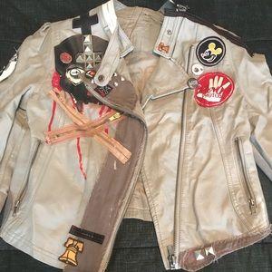 Amazing punk rock leather jacket